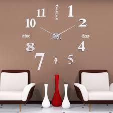 aliexpress com buy large digital home decoration big mirror wall