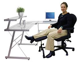 Elevate Support Your Legs At Work With Ergonomic Under Desk Leg Rest
