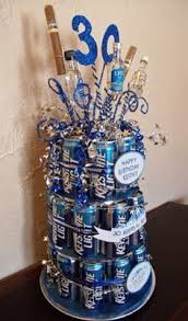 Beer Centerpieces Ideas by Beer Cake Using Bottled Beer For My Husband U0027s Surprise 40th
