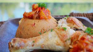 cuisine africaine poulet amiwo au poulet bénin afrique de l ouest ma cuisine bleu combava