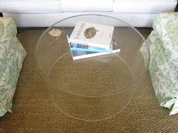 Pottery Barn Sale Rugs by Pottery Barn Rug Beneath Round Clear Acrylic Coffee Table And