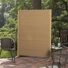 amazon com versare outdoor wicker resin room divider garden
