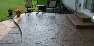 Concrete Patio Designs Sted Concrete Patio With Pit Sted Concrete Patio Tips