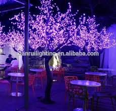4m high quality led lighted trees for decorations