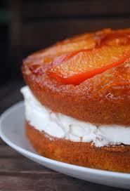 coconut peach upside down cake fat trapped in a skinny body