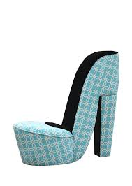High Heel Shoe Chair Hi Line Gift Ltd High Heel Shoe Chair With Black Accents