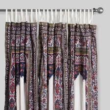 palace crinkle voile curtains set of 2 world market
