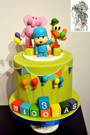pocoyo cake toppers pocoyo cake cake by hajnalka mayor cakesdecor