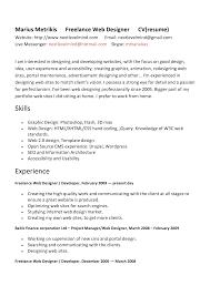 Graphic And Web Designer Resume Graphic Designer Sle Resumes 28 Images Free Lance Graphic