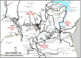 Map Of Oregon Highways by Trinity County Area Road Maps