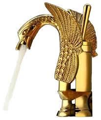 Brass Sink Faucet Gold Bathroom Sink Faucets Houzz