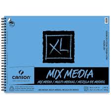 canson xl mix media pads blick art materials