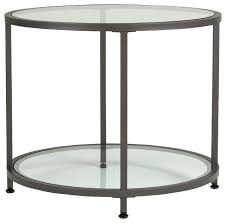 round glass side table glass side table robinsuites co contemporary tables intended for 13
