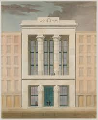 Greek Revival Floor Plans Alexander Jackson Davis 1803 U20131892 Essay Heilbrunn Timeline