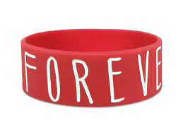 red silicone bracelet images One inch wide custom silicone wristbands png