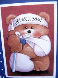 get well soon teddy how to what to write in a get well soon card