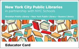 educator cards the new york library