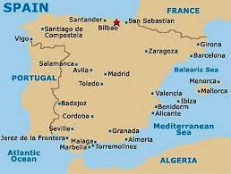 Portugal Spain Map by Bilbao Spain Map Imsa Kolese