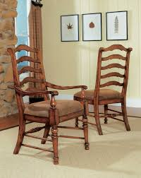 hooker furniture waverly place ladderback dining arm chair