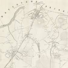 Massachusetts Town Map by Woodward And Ward U0027s 1848 Map Of Newton Massachusetts Rare