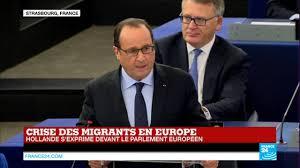 parlement europ n si e replay discours de françois hollande et angela merkel devant le
