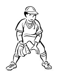 second base baseball player coloring page second base baseball