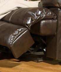 3 piece cortez reclining leather sectional brown by catnapper