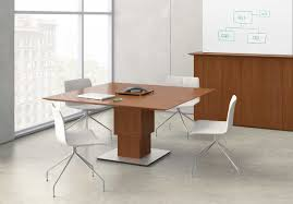Square Boardroom Table Nucraft Elevare Square Meeting Table Sm Systems Furniture