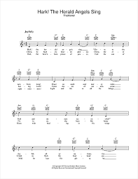 hark the herald angels sing chords by christmas carol melody