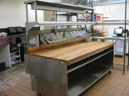 Boos Block Custom Prep Table W Boos Block Cutting Top W Shelving U0026 Nemco 6150