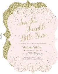 twinkle twinkle baby shower invitations baby shower invitations