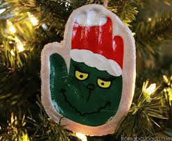 the grinch print keepsake ornament prints salt dough