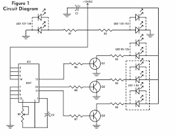 Led Blinking Circuit Diagram Led Flashing Heart Electronic Schematic Diagram