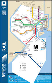 Link Light Rail Map Official Map New Jersey Transit Rail System This Transit Maps