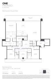 one miami floor plans one paraiso condos for sale presented on miamicondorealty com