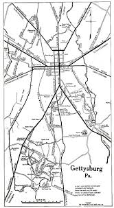Battle Of Gettysburg Map Pennsylvania Maps Perry Castañeda Map Collection Ut Library Online