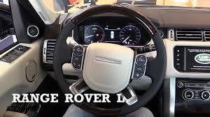 range rover 2017 2017 land rover range rover l interior review youtube