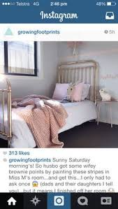 Rose Gold Bed Frame See This Instagram Photo By Incy Interiors U2022 434 Likes Kids