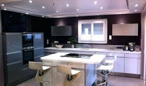 cuisine moderne design avec ilot modele de cuisine americaine avec ilot central 10 newsindo co