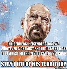 Heisenberg Meme - heisenberg theme song spiderman theme by argon meme center