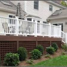 porch skirting porch woods and curb appeal