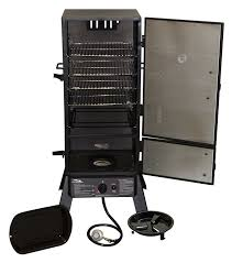 Brinkmann Dual Gas Charcoal Grill by Amazon Com Masterbuilt 20051311 Gs30d 2 Door Propane Smoker