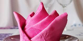 10 hochzeitstag rosenhochzeit servietten falten anleitung mit
