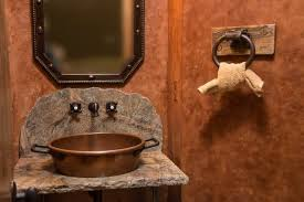 bar bathroom ideas bathroom ideas western rustic bathroom decor with sink