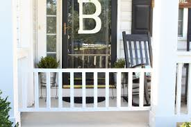 diy dog gate for your porch reinvented
