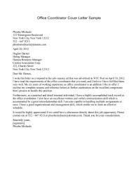 Cover Letter Examples For Sales by Media Sales Coordinator Cover Letter Regarding Coordinator Cover