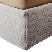 light grey bed skirt amazon com fieldcrest king bedskirt luxury light grey matelasse