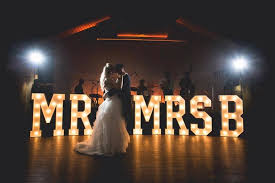 mr and mrs sign for wedding hire mr mrs with your initials large light up mr mrs sign for