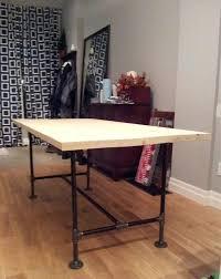 pipe desk with shelves black iron pipe desk ed ex me