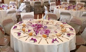 deco noel table ronde décoration de noël déco écolo